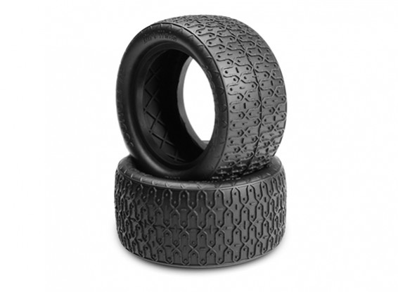 JCONCEPTS Dirt Webs 1/10th Buggy Rear Tires - Gold (Indoor Soft) Compound