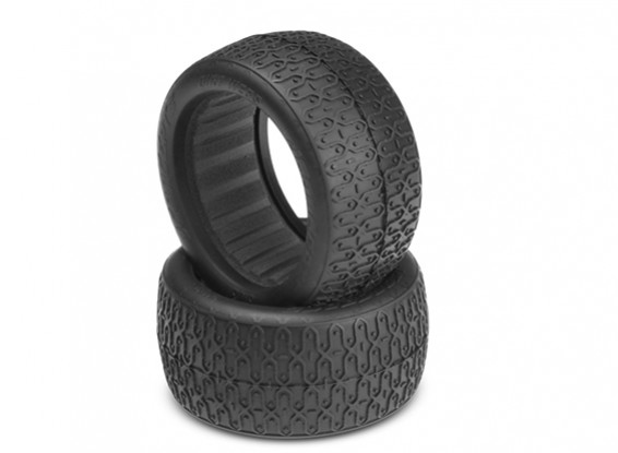 JCONCEPTS Dirt Webs 1/10th 4WD Buggy Rear Tires 60mm - Blue (Soft) Compound