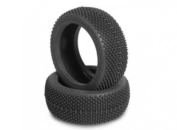 JCONCEPTS Subcultures 1/8th Buggy Tires - Green (Super Soft) Compound