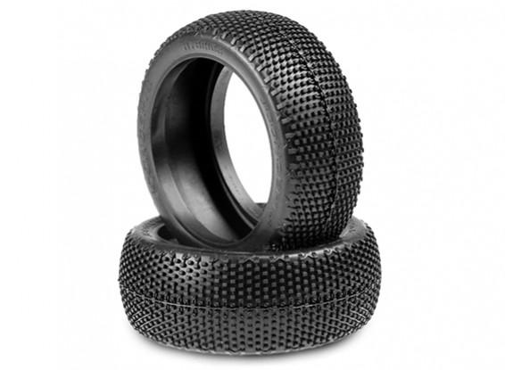 JCONCEPTS Hybrids 1/8th Buggy Tires - Blue (Soft) Compound