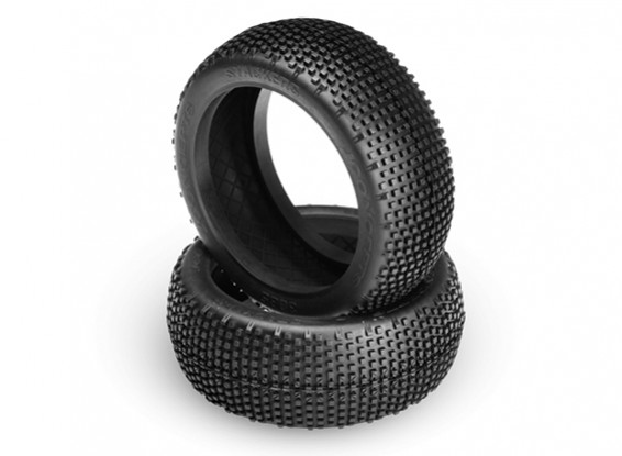 JCONCEPTS Stackers 1/8th Buggy Tires - Blue (Soft) Compound