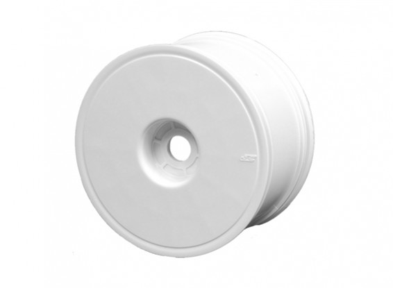 "JCONCEPTS Mono-3.7"" 1/8th Truck Wheel - White"