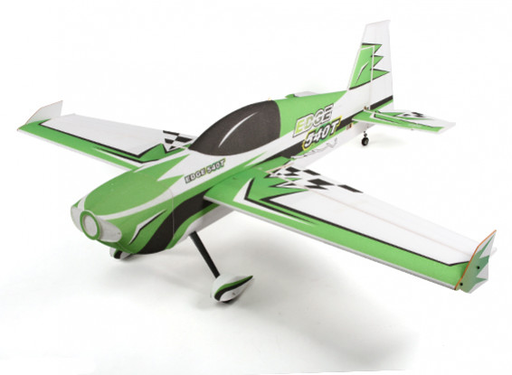 The HobbyKing™ Edge 540T EPP/Light Plywood 3D Aerobatic Airplane 1430mm (ARF) (Green)