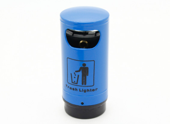 1/10 Scale Trash Can - Blue