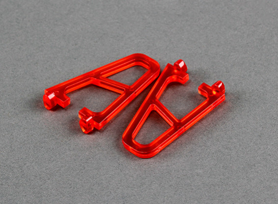 Landing gear for FPV250 V4 Ghost Edition Red (2 pcs)