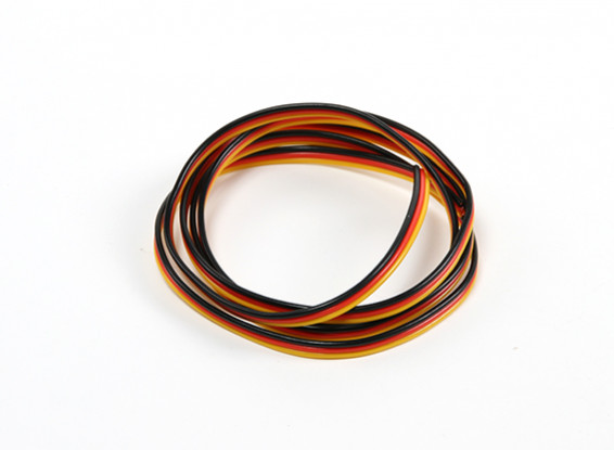 22AWG Servo Wire 100cm (Red/Black/Yellow)