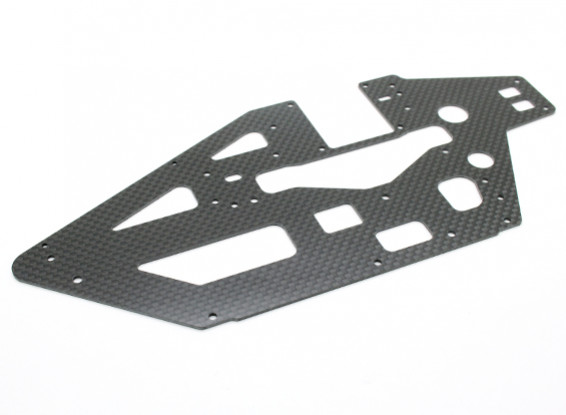 Assault 450L Flybarless 3D Helicopter Carbon Main Frame (1pc)