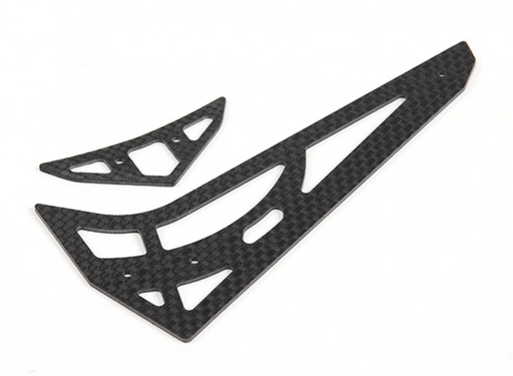 Assault 450L Flybarless 3D Helicopter Carbon Vertical and Horizontal Tail Set