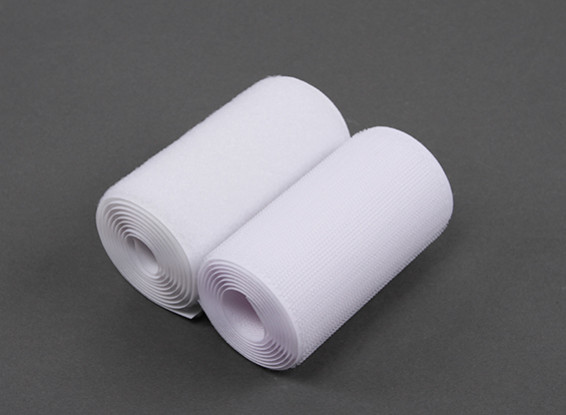Polyester Hook and Loop Tape (100mm x 1m)