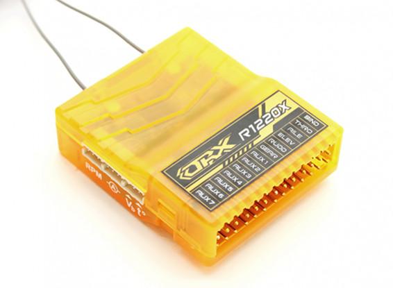 OrangeRx R1220X 12Ch 2.4GHz DSM2/DSMX CompFullRangeRx w/SatDivAnt,F/Safe&S.Bus