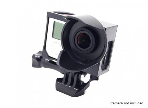 Tripod Cradle Sunshade Housing for GoPro Hero 3, 3 plus & 4 (Black)
