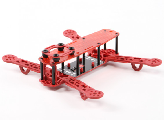 H-King Color 250 Class FPV Racing Drone Frame (Red)