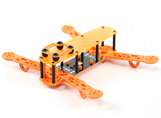 H-King Color 250 Class FPV Racing Drone Frame (Orange)