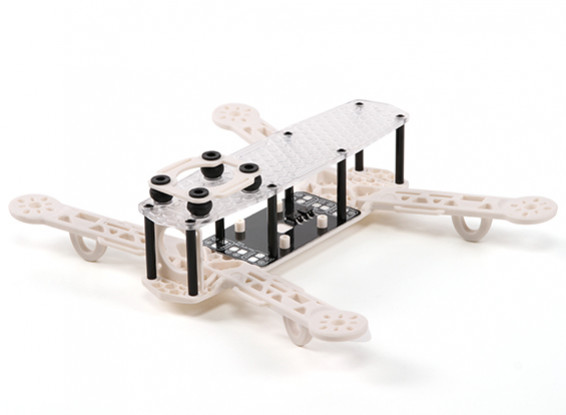 H-King Color 250 Class FPV Racing Drone Frame (White)