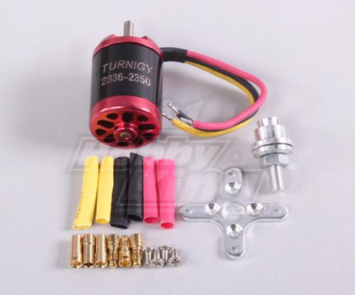 Turnigy2836 brushless Outrunner 2350kv