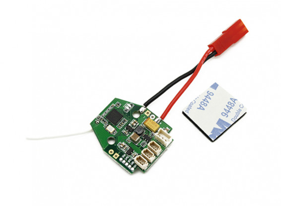 Assault 100 Flybarless Helicopter Replacement PCB Board DSMX/DSM2 Compatible Version Only