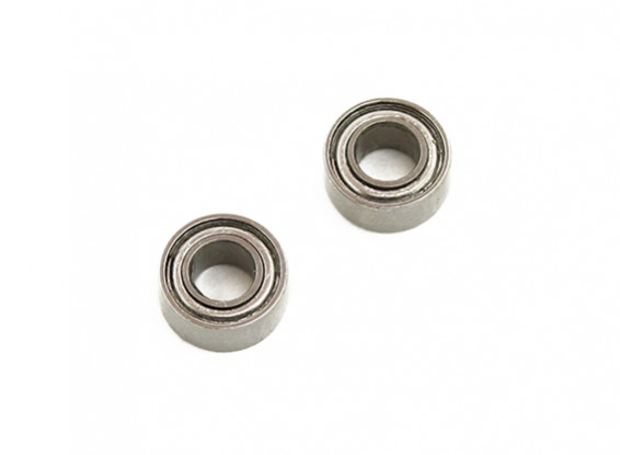 Assault 100 Flybarless Helicopter Replacement Main Shaft Bearings 3x6x2.5mm (2pcs)