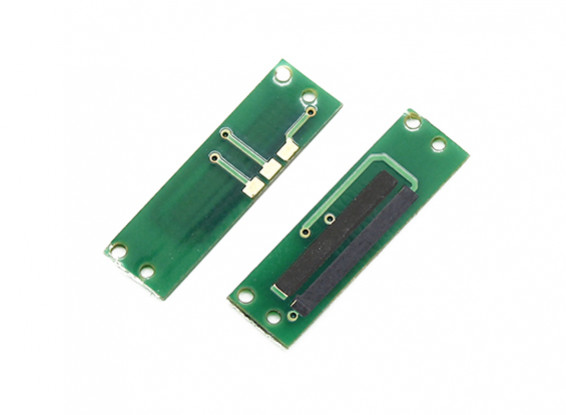 Assault 100 Flybarless Helicopter Replacement Linear Servo Carbon Track Plate (2pcs)