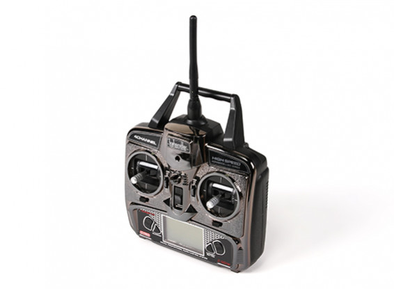 FX070C 2.4GHz 4CH Flybarless RC Helicopter Replacement Transmitter (Mode1 & Mode2)