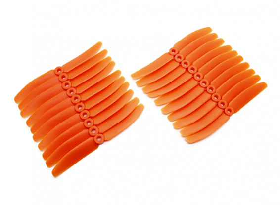 Gemfan Multirotor ABS Bulk Pack 5x4 Orange (CW/CCW) (10 Pairs)