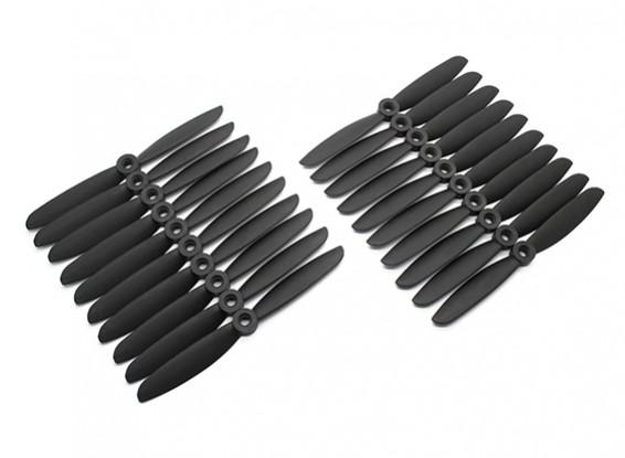 Gemfan Multirotor CRP Bulk Pack 5x4.5 Black (CW/CCW) (10 Pairs)