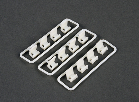 Cable Tie Clip Mounting Set (12 piece)