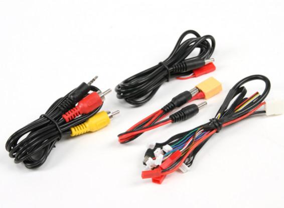 Skyzone P&P 25mW Set w/TS5825 Tx, RC832 Rx And Sony 480TVL CCD Camera and C/P Antennas