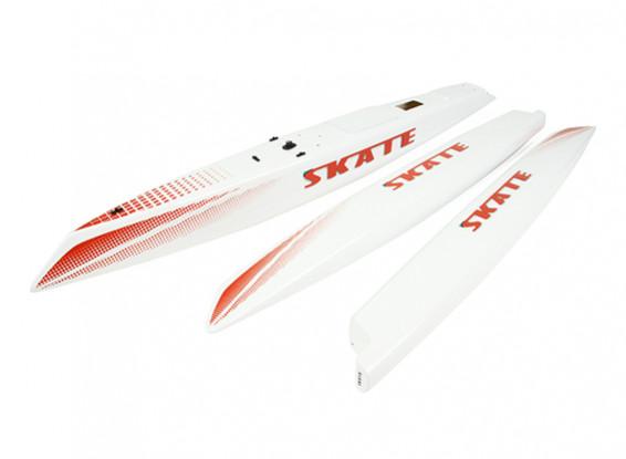 Skate 1000 Trimaran Sailboat Replacement Hull Set