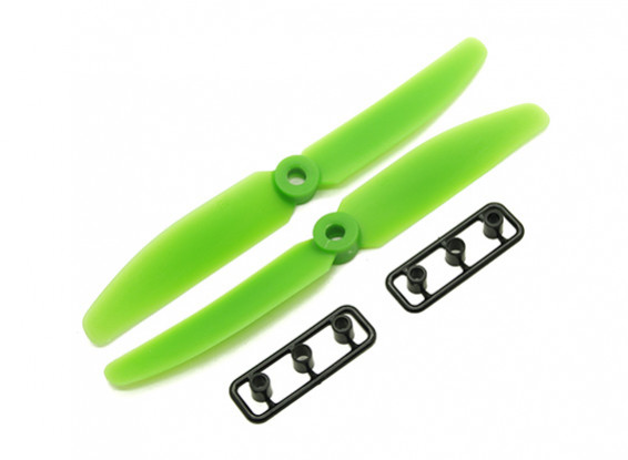 Gemfan 5040 GRP/Nylon Propellers CW/CCW Set (Green) 5 x 4