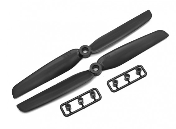 Gemfan 6030 GRP/Nylon Propellers CW/CCW Set (Black) 6 x 3