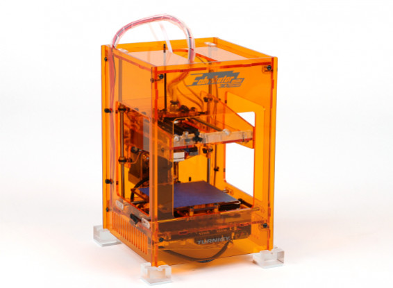 Fabrikator Mini 3D Printer - V1.5 - Orange - AU 230V