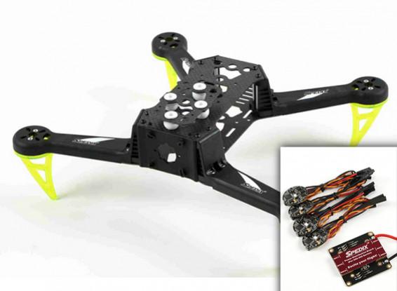Spedix S250AQ FPV Racing Drone Kit W/ESC PDB Combo