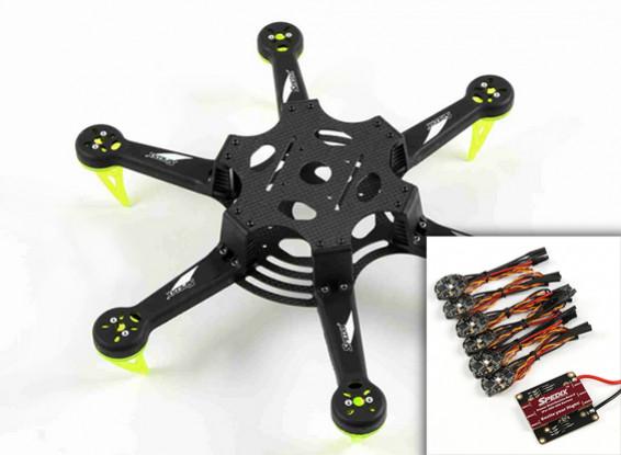 Spedix S250H Racing Drone Kit E/ESC PDB Combo