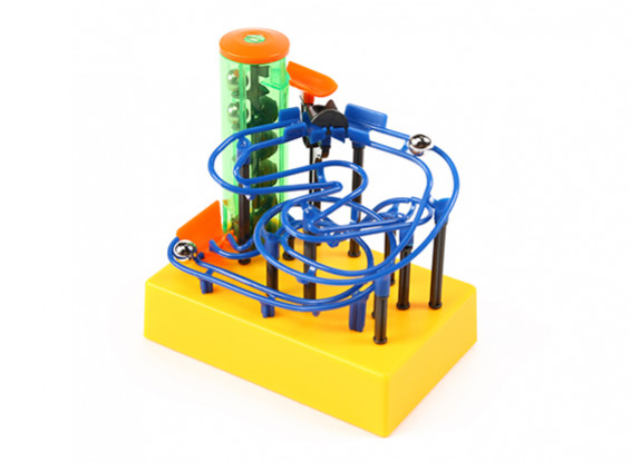 MaBoRun Mini Roller Coaster Educational Science Toy Kit