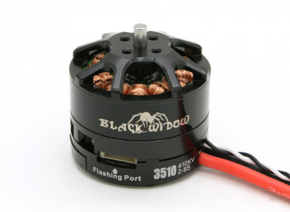Black Widow 3510-410Kv With Built-In ESC CW/CCW
