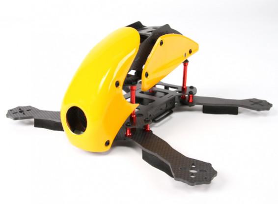 HobbyKing™ RoboCat 270mm True Carbon Racing Drone (Yellow)