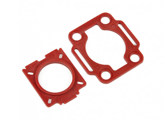 HobbyKing™ Color 250 Mobius / COMS Mounting plates (Red)