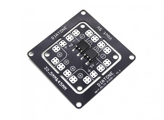 Diatone Blade 150/180/200 & ET 150 Class Micro Multirotor Power Distribution Board