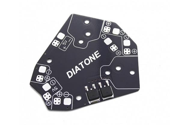 Diatone ET 150/180 Class Micro Multirotor Power Distribution Board with 5V Stepdown