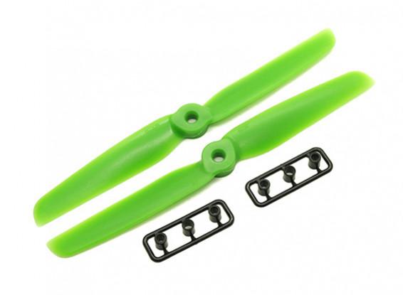 Gemfan 6030 GRP/Nylon Propellers CW/CCW Set (Green) 6 x 3