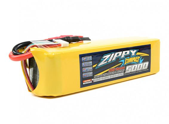 ZIPPY Compact 5000mAh 7S 25C Lipo Pack (Single Balance Tab Version)