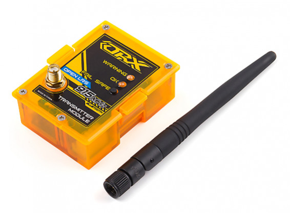 Orange RX OpenLRSng 915MHz with Bluetooth TX Module (JR Pin configuration)