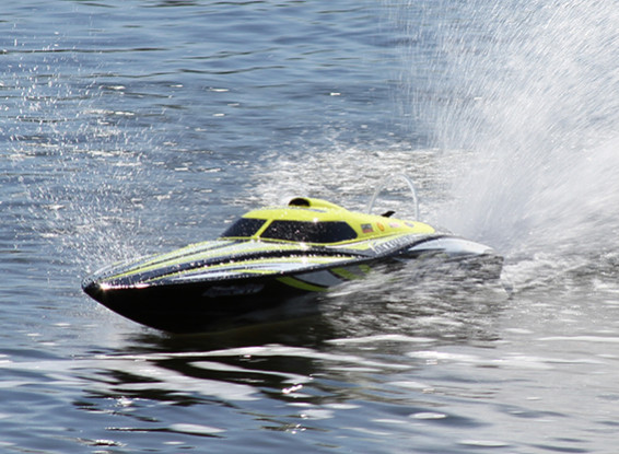 HydroPro Inception Brushless Powered Deep Vee Racing Boat 950mm (37