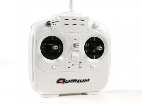 Quanum i8 8ch 2.4GHZ AFHDS 2A Digital Proportional Radio System Mode 2 (White)