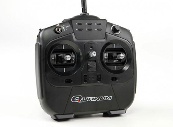 Quanum i8 8ch Mode 2 2.4GHZ AFHDS 2A Digital Proportional Radio System (Black)