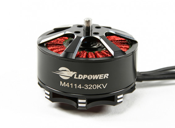LDPOWER M4114-320KV Brushless Multicopter Motor (CW)