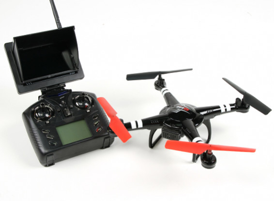 Q222G Spaceship - Altitude Hold Quadcopter with FPV