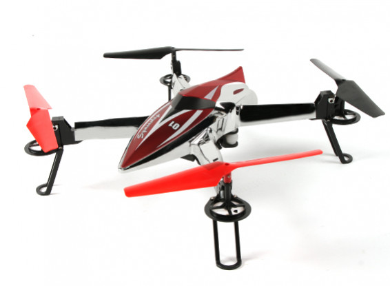WLtoys Q212 (Ready to Fly) Spaceship Quadcopter w/ Barometric Altimeter & 1 Key Auto Start (Mode 2)