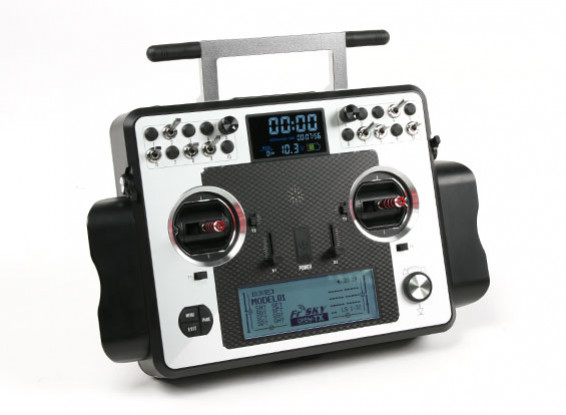 FrSky 2.4GHz Taranis X9E Digital Telemetry Radio System (Mode 2) (EU)