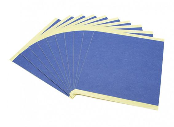 Turnigy Mini Fabrikator 3D Printer v1.0 Spare Parts - Blue Print Bed Paper (10pcs)